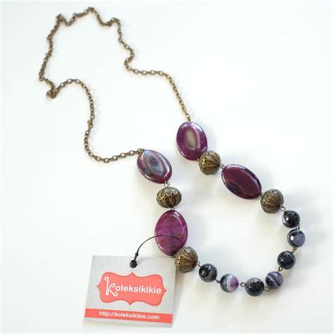Kalung Ungu kalung batu tambolaka ungu koleksikikie