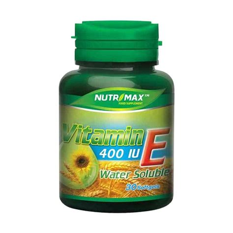 jual nutrimax vitamin e 400 iu water soluble multivitamin