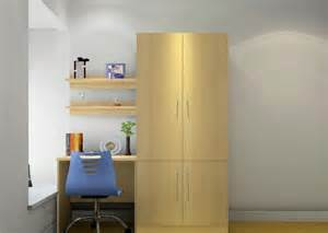 simple wardrobe and desk