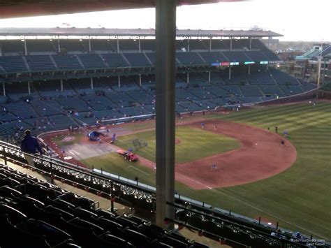 wrigley field view from seats wrigley field section 534 chicago cubs rateyourseats