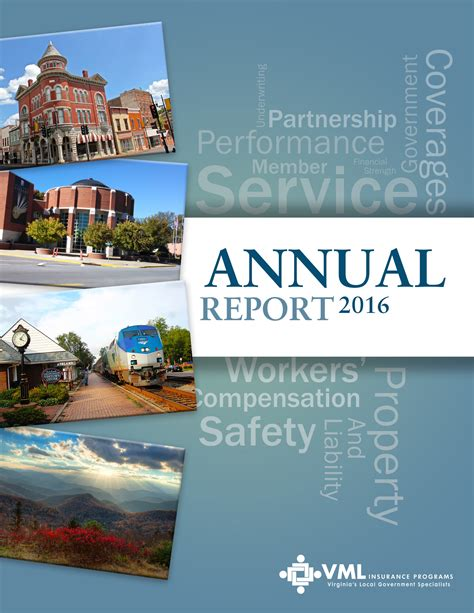 2016 Annual Report by 2016 Vmlip Annual Report Focuses On Service Vmlip
