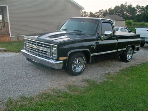 silverado short bed photos 1987 chevrolet silverado short bed lowered for sale