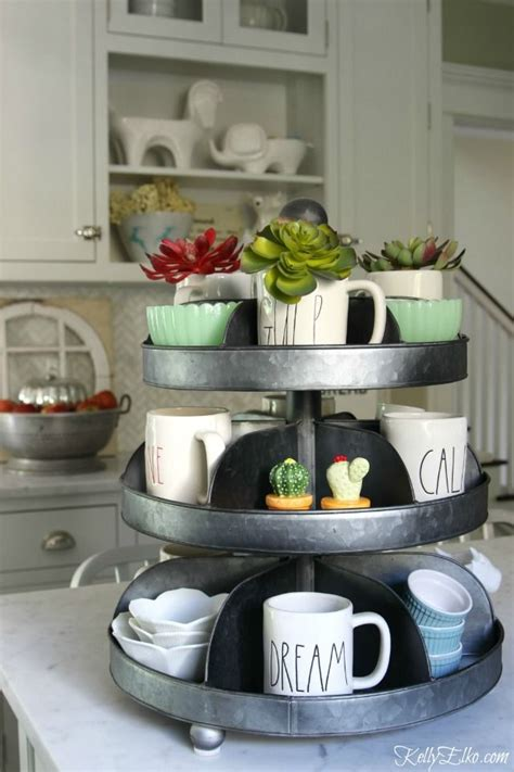 Kitchen Counter Display Ideas by 1000 Ideas About Coffee Mug Display On Coffee