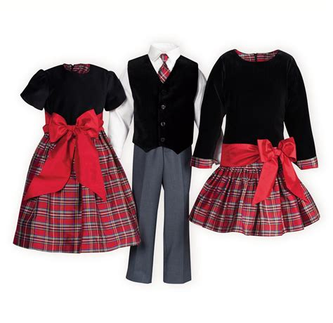 matching sister dresses for christmas plaid sewing sibling