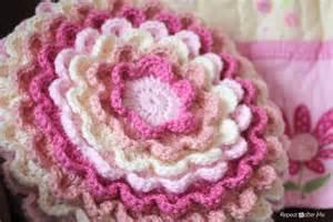 Blooming Flower Cushion Crochet Pattern 404 Not Found