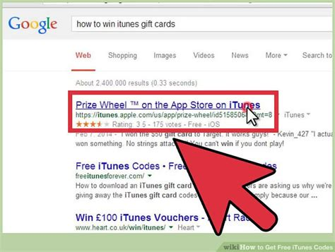 How To Get Free Itunes Gift Card Codes - how to get free itunes codes 4 steps with pictures wikihow