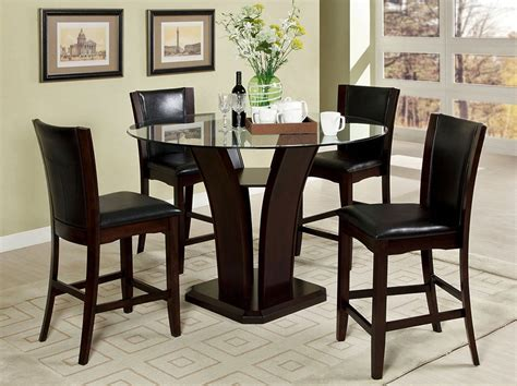 contemporary dining furniture dining table chair bar manhattan contemporary pub table set