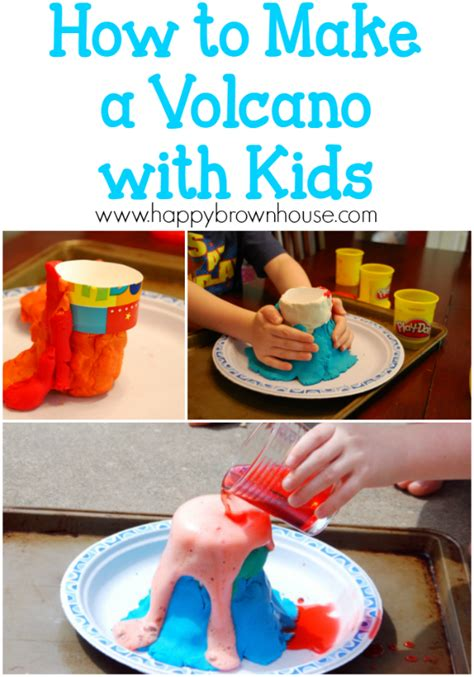 How Do You Make A Volcano Out Of Paper Mache - simple science how to make a volcano with