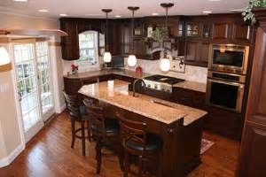remodeled kitchens with islands kitchen remodeling islands