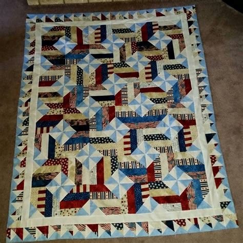 quilt pattern on point pinwheel on point with fence rail quilt top quiltsby me