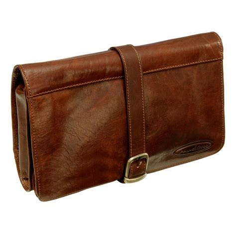 leather toiletry bag leather hanging toiletry bag pratello s fashion toiletry bag leather and bags