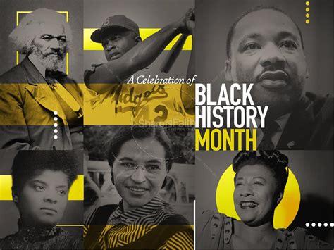 Black History Celebration Sermon Powerpoint Martin Luther King Jr Day Black History Powerpoint Templates