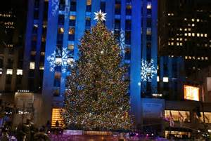 when is the new york tree lighting tree lighting nyc