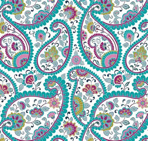 V22 Wallpaper Sticker Motif Vintage Purple papier peint color 233 motif paisley floral textile