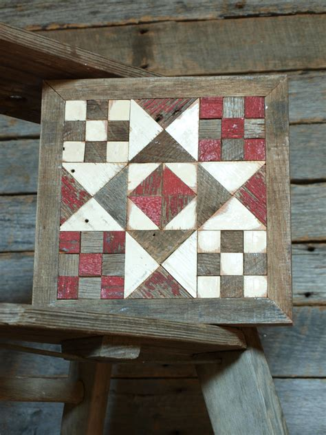 Wooden Barn Quilts by Chandeliers Pendant Lights
