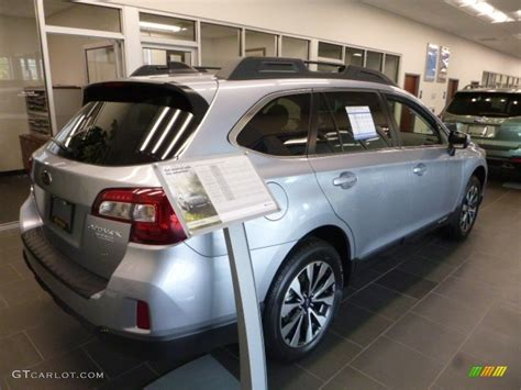 2017 subaru outback 2 5i limited interior 2017 ice silver metallic subaru outback 2 5i limited