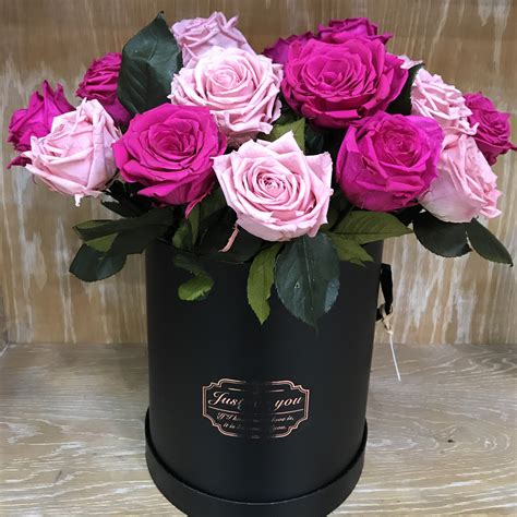 Bloom Box Pink Preserved Flower For Gift luxury preserved roses in gift box gemma bloom