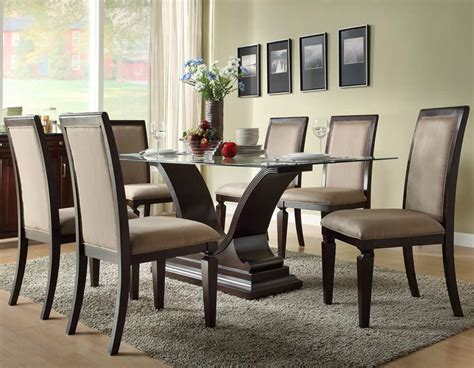 contemporary dining room set contemporary dining chairs creating modern interior nuance