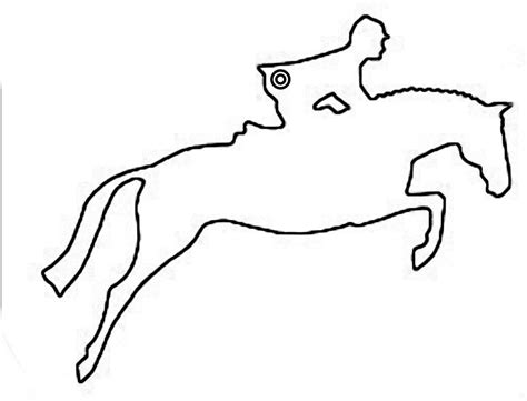 horse outline images cliparts co