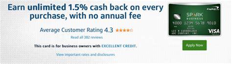 capital one spark select for business citi 174 card vs bankamericard rewards vs