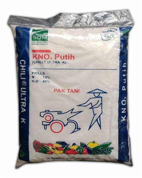 Pupuk Kalium Nitrat Pak Tani untuk kebutuhan kalium pilih pupuk zk kcl atau kno3