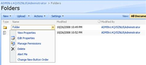 sharepoint workflow create folder sharepoint workflows for folder content type codeproject
