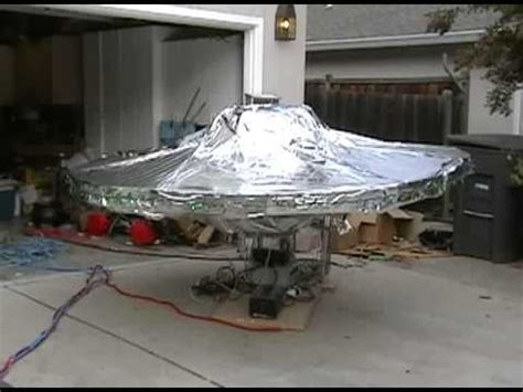 How To Make A Flying Saucer Out Of Paper - diy flying saucer 2008