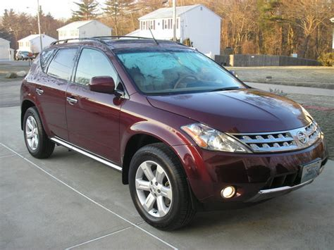 2006 nissan murano joesredmax 2006 nissan murano specs photos modification