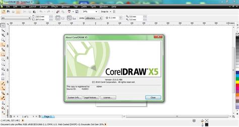 corel draw x5 tools list the information source