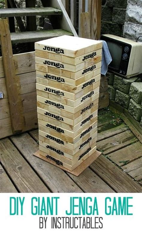 patio jenga giant outdoor games patio outdoor living pinterest