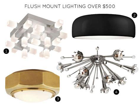 the 30 best flush mount lighting fixtures making it lovely