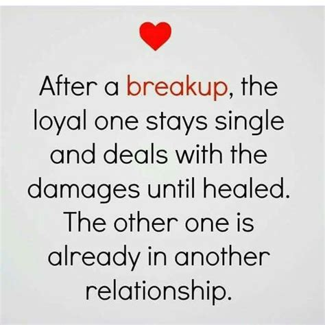 Another Breakup by After A Up The Loyal One Stays Single And Deals