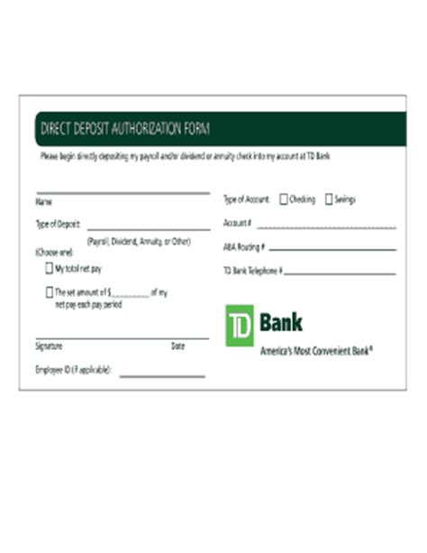Make Money Online Direct Deposit - direct deposit authorization fill online printable fillable blank pdffiller