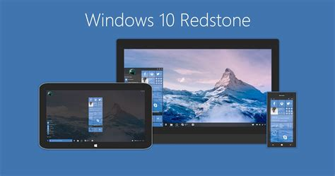 most up to date windows 10 version windows redstone concept imagines the first major windows