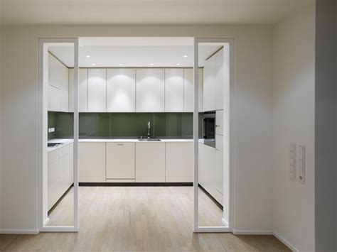 kitchen interior doors interior design a duplex apartment with a fireplace in the quant complex