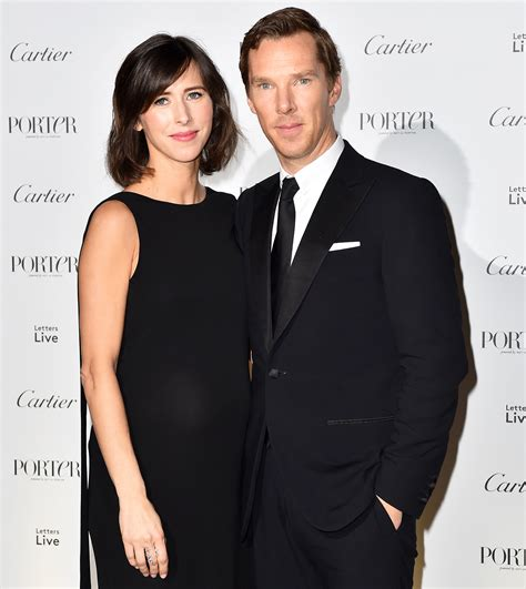 Vanity Fair October Benedict Cumberbatch Wife Sophie Hunter Welcome Second Son