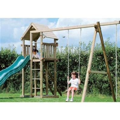 double swing set with slide houtland clubhouse with slide and double swing climbing