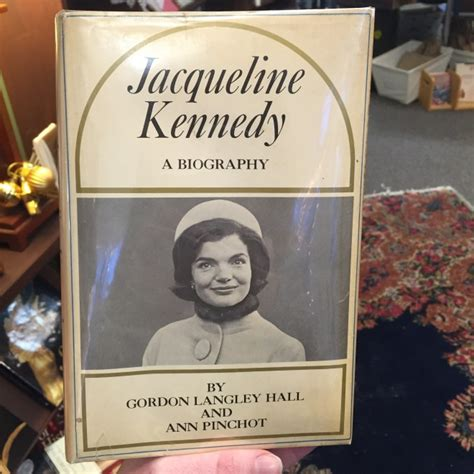 signed jackie kennedy biography available riverby books d c