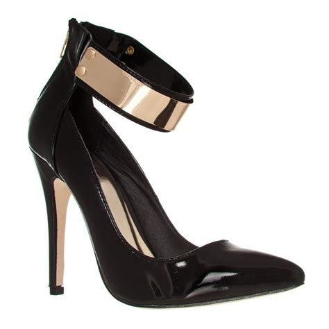 high heel shoes with ankle straps high heel ankle shoes fs heel