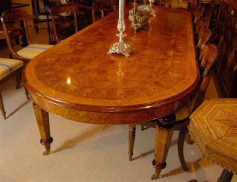 12 foot dining table 12 foot italian marquetry extending dining table