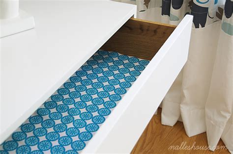 fabric drawer liners nalle s house diy fabric drawer liners