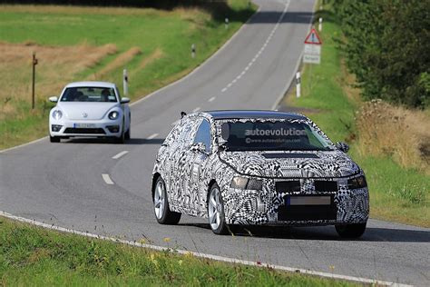 volkswagen polo black 2017 2017 volkswagen polo and polo gti spied testing still