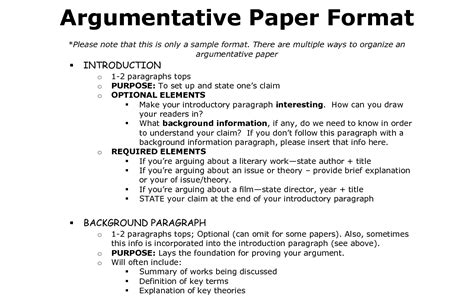 Argument Sle Essay argumentative essay format academic help essay writing formats guides and referencing styles