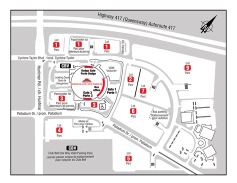 Floor Plan Express parking canadian tire centre