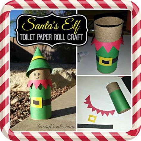 How To Make A Ton With Toilet Paper - santa s toilet paper roll craft for toilets