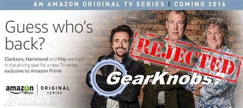 amazon top gear amazon s new top gear show will not be gear knobs cars uk