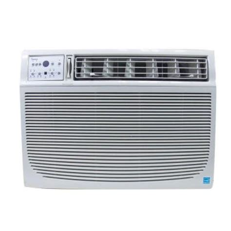 impecca 15 000 btu window air conditioner with electronic