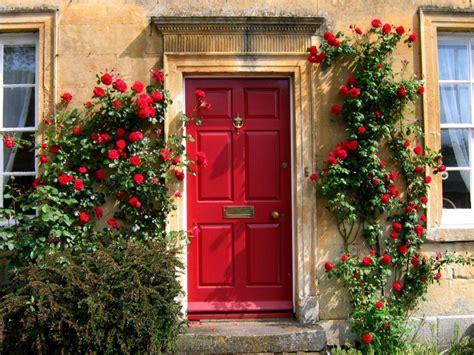 Outdoor Front Door Flowers With Landscape Ideas Front Flowers For Front Door