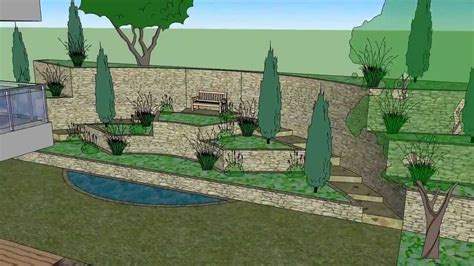 sketchup tutorial garden design google sketchup 3d garden design garden ftempo