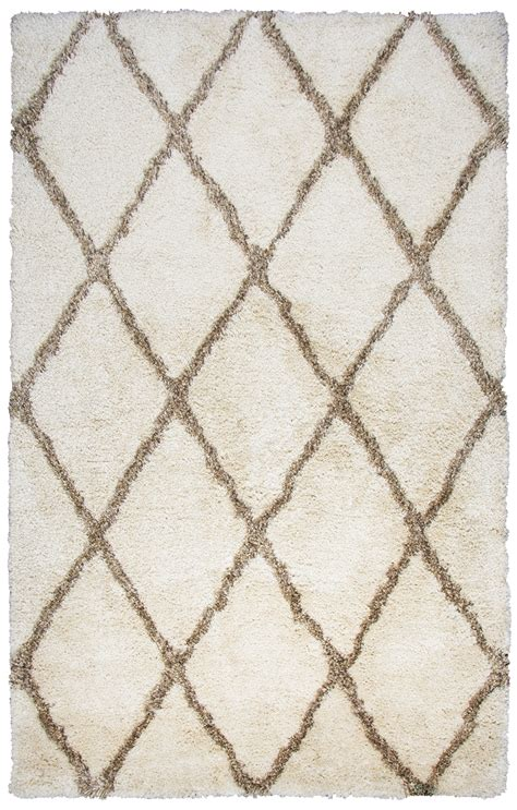 pattern area rugs commons pattern area rug in ivory brown 8 x 10